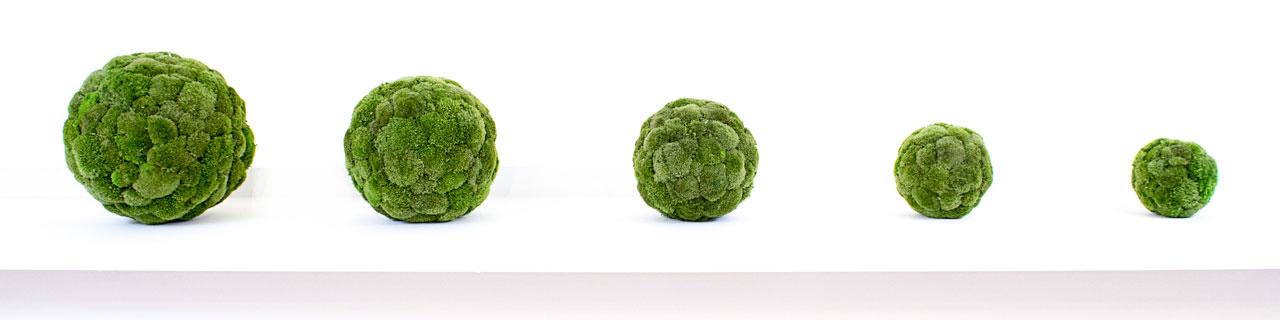 esempio sfere in polemoss