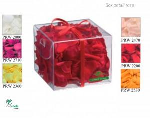 box petali rose arteverde store