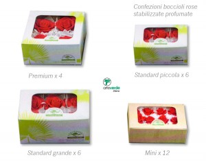 confezioni boccioli rose arteverde store